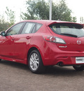 mazda mazdaspeed3 2010 red hatchback 4 cylinders 6 speed manual 80504