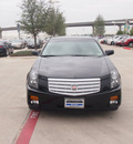cadillac cts 2007 black sedan 4dr sdn rwd 3 6l gasoline 6 cylinders rear wheel drive automatic 76137