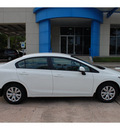 honda civic 2012 white sedan lx 4 cylinders automatic 77339