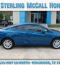 honda civic 2012 blue coupe ex l w navi 4 cylinders automatic 77339