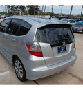 honda fit 2013 silver hatchback sport 4 cylinders automatic 77339