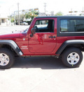 jeep wrangler 2013 red suv sport 6 cylinders automatic 78624