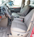 chrysler town and country 2013 red van touring 6 cylinders shiftable automatic 78624