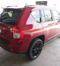 jeep compass 2012 red suv latitude 4 cylinders automatic 78624
