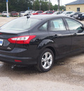 ford focus 2013 black sedan se 4 cylinders automatic 77575