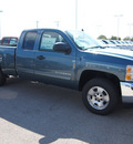 chevrolet silverado 1500 2013 blue pickup truck lt flex fuel v8 2 wheel drive automatic 78009