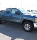 chevrolet silverado 1500 2013 blue pickup truck lt flex fuel v8 2 wheel drive automatic 78009