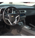 chevrolet camaro 2012 silver lt 6 cylinders automatic 77039