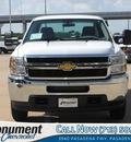 chevrolet silverado 2500hd 2013 white work truck gasoline 8 cylinders 2 wheel drive automatic 77503