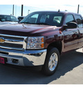 chevrolet silverado 1500 2013 dk  red lt flex fuel 8 cylinders 4 wheel drive automatic 78130