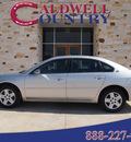 chevrolet impala 2007 silver sedan ls 6 cylinders automatic 77836