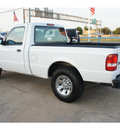 ford ranger 2009 white gasoline 4 cylinders 2 wheel drive automatic 77034