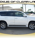 lexus gx 460 2013 white suv premium gasoline 8 cylinders 4 wheel drive automatic 77546