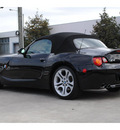 bmw z4 2003 black 3 0i gasoline 6 cylinders rear wheel drive automatic 77002