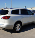 buick enclave 2012 white suv premium gasoline 6 cylinders front wheel drive 6 speed automatic 76206