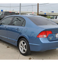 honda civic 2008 blue sedan lx gasoline 4 cylinders front wheel drive automatic 78233