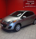mazda mazda2 2011 silver sedan sport gasoline 4 cylinders front wheel drive automatic 76116