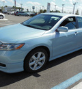 toyota camry 2009 baby blue sedan se gasoline 4 cylinders front wheel drive automatic 34788