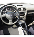 subaru impreza 2006 silver sedan gasoline 4 cylinders all whee drive 6 speed manual 76541