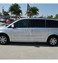 chrysler town and country 2012 silver van touring flex fuel 6 cylinders front wheel drive shiftable automatic 77090