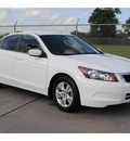 honda accord 2008 white sedan lx p 4 cylinders automatic 77338