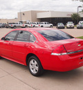 chevrolet impala 2009 red sedan lt flex fuel 6 cylinders front wheel drive automatic 76049