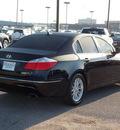 hyundai genesis 2009 black sedan 3 8l v6 6 cylinders shiftable automatic 77074