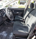nissan versa 2011 black sedan 1 8 s 4 cylinders automatic with overdrive 77477