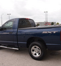 dodge ram 1500 2008 blue pickup truck sxt gasoline 6 cylinders rear wheel drive automatic with overdrive 76011