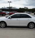 lincoln mkz 2009 white sedan gasoline 6 cylinders all whee drive automatic with overdrive 76087