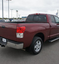 toyota tundra 2010 maroon limited gasoline 8 cylinders 2 wheel drive 6 speed automatic 76087