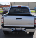 toyota tacoma 2010 silver sr5 gasoline 6 cylinders 2 wheel drive automatic 78572