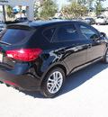 kia forte 5 door 2012 black hatchback ex gasoline 4 cylinders front wheel drive automatic 77802