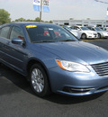 chrysler 200 2011 lt  blue sedan lx gasoline 4 cylinders front wheel drive autostick 62863
