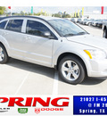dodge caliber 2012 bright silv met wagon sxt gasoline 4 cylinders front wheel drive automatic 77388