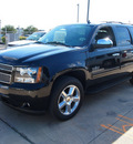 chevrolet suburban 2013 black suv lt 1500 flex fuel v8 2 wheel drive automatic 78130
