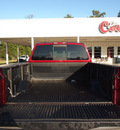 nissan titan 2007 red se ffv flex fuel 8 cylinders rear wheel drive automatic with overdrive 77662