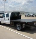 ford f 350 2012 white truck v8 automatic 76108