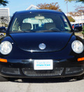 volkswagen new beetle 2007 black hatchback 2 5 pzev gasoline 5 cylinders front wheel drive shiftable automatic 75080