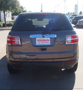 saturn outlook 2009 dk  brown suv xe 6 cylinders automatic 76053