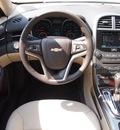 chevrolet malibu 2013 silver sedan lt gasoline 4 cylinders front wheel drive automatic 75075