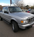 ford ranger 2007 silver xlt gasoline 6 cylinders 4 wheel drive automatic 81212