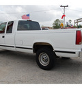 chevrolet c k 2500 series 1997 white pickup truck c2500 silverado gasoline v8 rear wheel drive automatic 77020