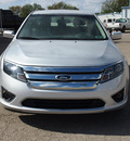 ford fusion 2012 silver sedan sel 6 cylinders automatic 78861