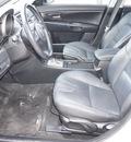mazda mazda3 2005 white sedan s gasoline 4 cylinders front wheel drive shiftable automatic 75080