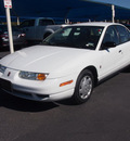 saturn sl1 2002 white sedan gasoline 4 cylinders front wheel drive automatic 76234
