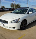 nissan maxima 2013 white sedan 3 5 sv 6 cylinders automatic 75150