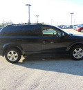 dodge journey 2010 black suv sxt gasoline 6 cylinders front wheel drive automatic 75657