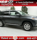 toyota highlander 2013 gray suv plus gasoline 4 cylinders front wheel drive automatic 91731
