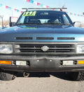 nissan pathfinder 1995 blue suv v6 5 speed manual 80229